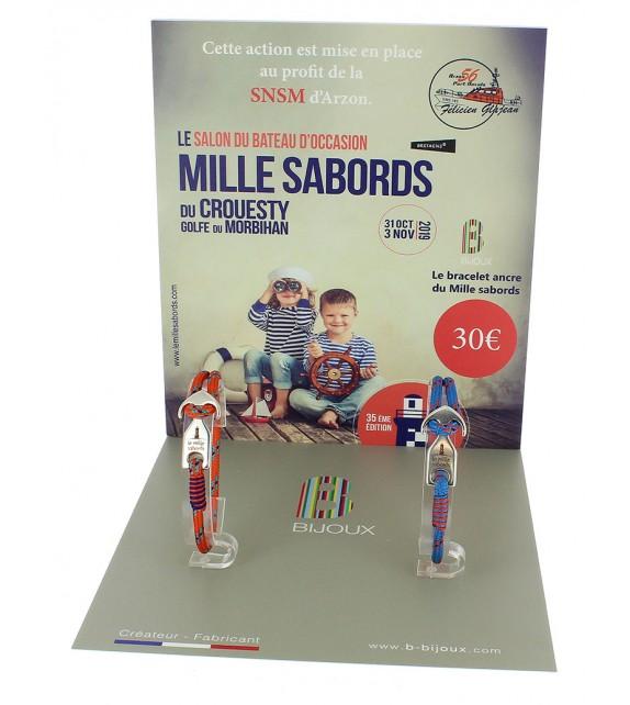 """Bracelet Skipper """"Le mille Sabords"""""""