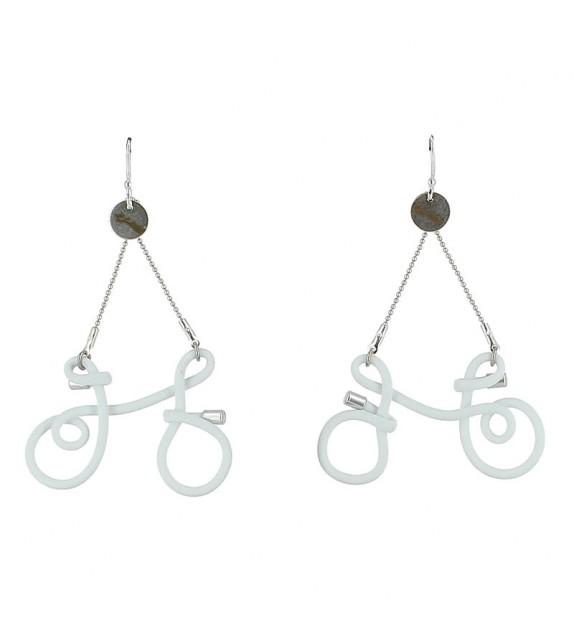 Boucles d'Oreilles Bicyclette